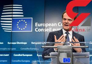 توسک: اتحادیه اروپا تحریمهای روسیه را تمدید میکند