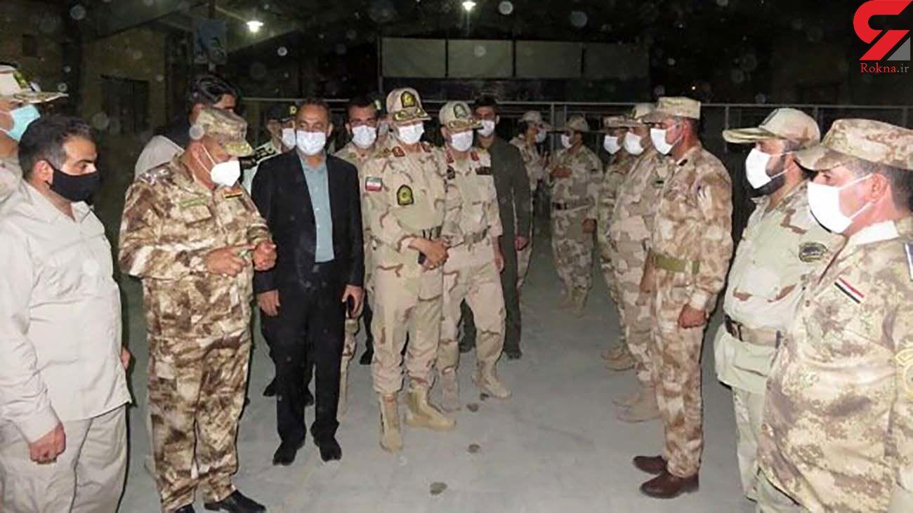 تاکید مرزبانان ایران و عراق بر ممنوعیت کامل تردد زائران در ایام اربعین