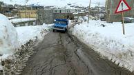 رانش زمین در سمنان / تخلیه تعداد زیادی خانه و اعلام منطقه ممنوعه+ عکس