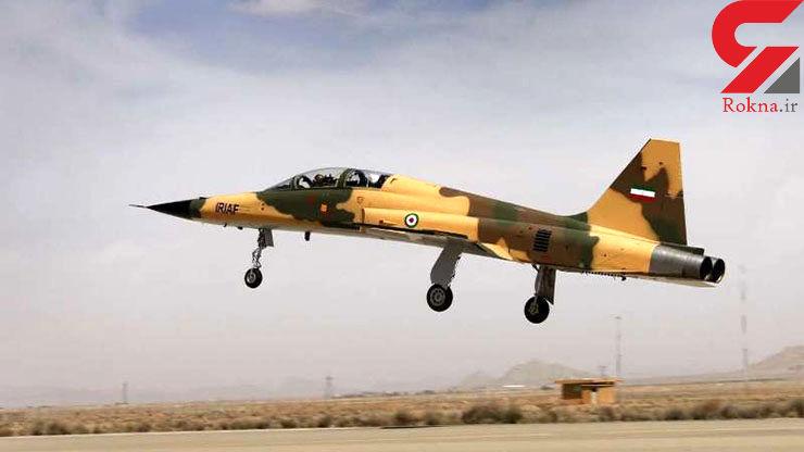 تمرین هوایی تیزپروازان ارتش/پرواز «کوثر» در آسمان تهران