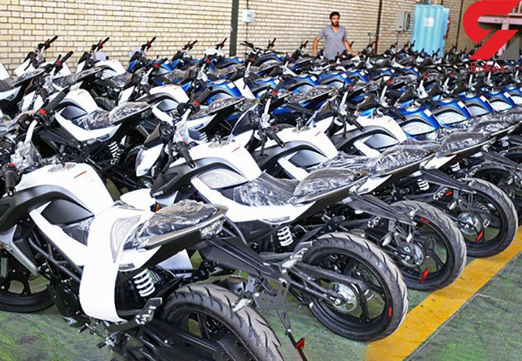 کشف موتورسیکلتهای قاچاق میلیونی در لامرد