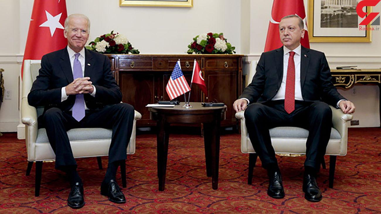 اردوغان و بایدن درباره ایران گفتوگو میکنند