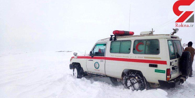 نجات 44 مادر باردار آذربایجانی از برف و کولاک
