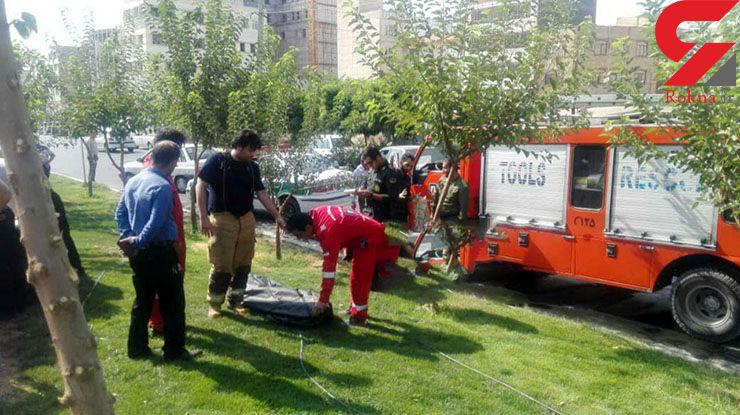 سقوط مرگبار مرد 40 ساله در کانال آب شهرک ناز فردیس +عکس