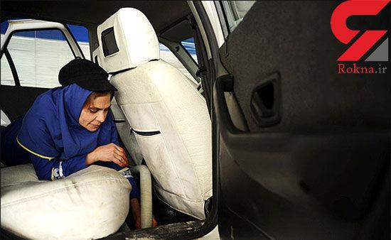 این زنان در یک کارواش تهران ماشین می شویند + تصاویر