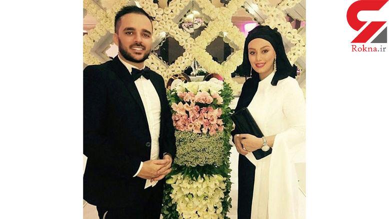 سحر قریشی و برادرش در لباس عروسی! +عکس