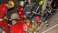 زنده به گور شدن مرد مشهدی در انفجار وحشتناک + عکس