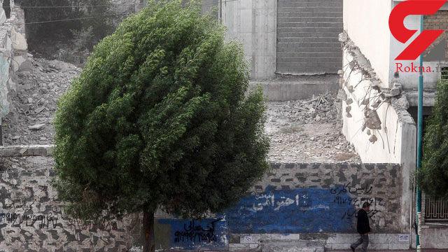 وزش باد نسبتا شدید در تهران در طول ساعات امروز