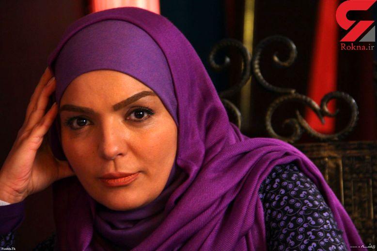 واکنش خانم بازیگر ایرانی به شایعه اعتیادش+فیلم