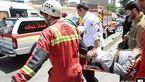 مصدومیت شدید مرد میانسال پس از سقوط به چاهک آسانسور + تصاویر