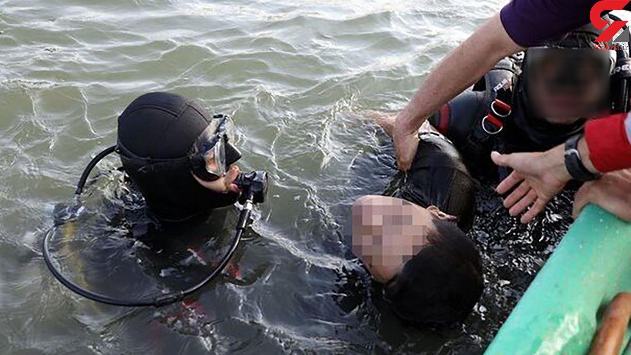 2 جوان در سد مهاباد غرق شدند