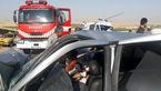 حادثه وحشتناک در بوکان با 3 کشته / پژو مچاله شد + عکس