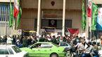 معترضان خشمگین بورس تهران   را تعطیل کردند+عکس