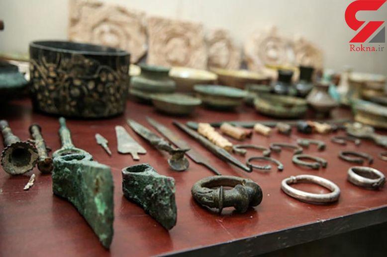 کشف اشیای تاریخی در کرمانشاه
