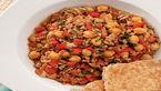 خوراک گوشت بوقلمون با پودر چیلی/غذای فوری و رژیمی