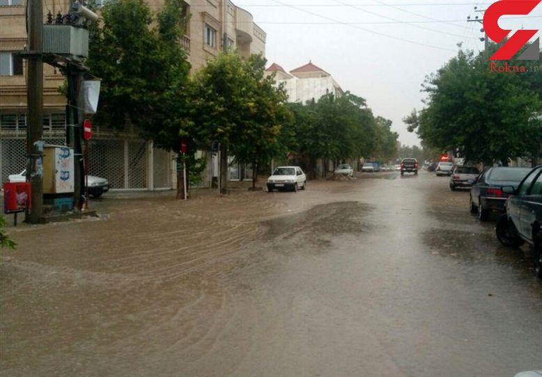 سیلاب خسارت جدی در آمل نداشت/ آبگرفتگی ۱۵ واحد مسکونی