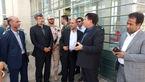 معاون اجتماعی قوه قضائیه از پایانه مرزی مهران بازید کرد + عکس