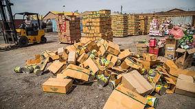 کشف کالای قاچاق در جنوب تهران