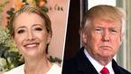 افشای علاقه ترامپ به برقراری رابطه با یک بازیگر زن انگلیسی+ تصاویر