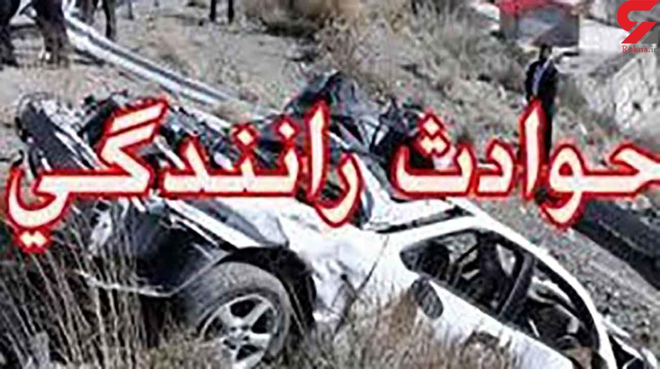 تصادف مرگبار پراید و پی کی در تربت جام / 2 کشته و 6 مصدوم