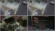 آتش سوزی مدرسه پسران دبستانی در شمال + عکس های حادثه