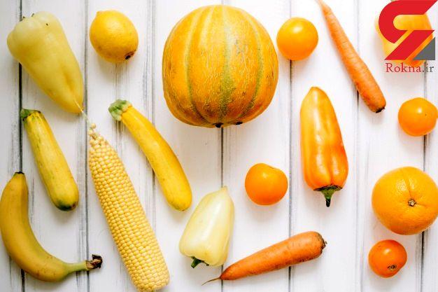 لیست سبزیجات زرد رنگ سرشار از ویتامین آ