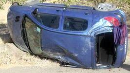تصادف شدید مسعود جعفریجوزانی کارگردان سرشناس ایران + عکس خودروی چپ شده