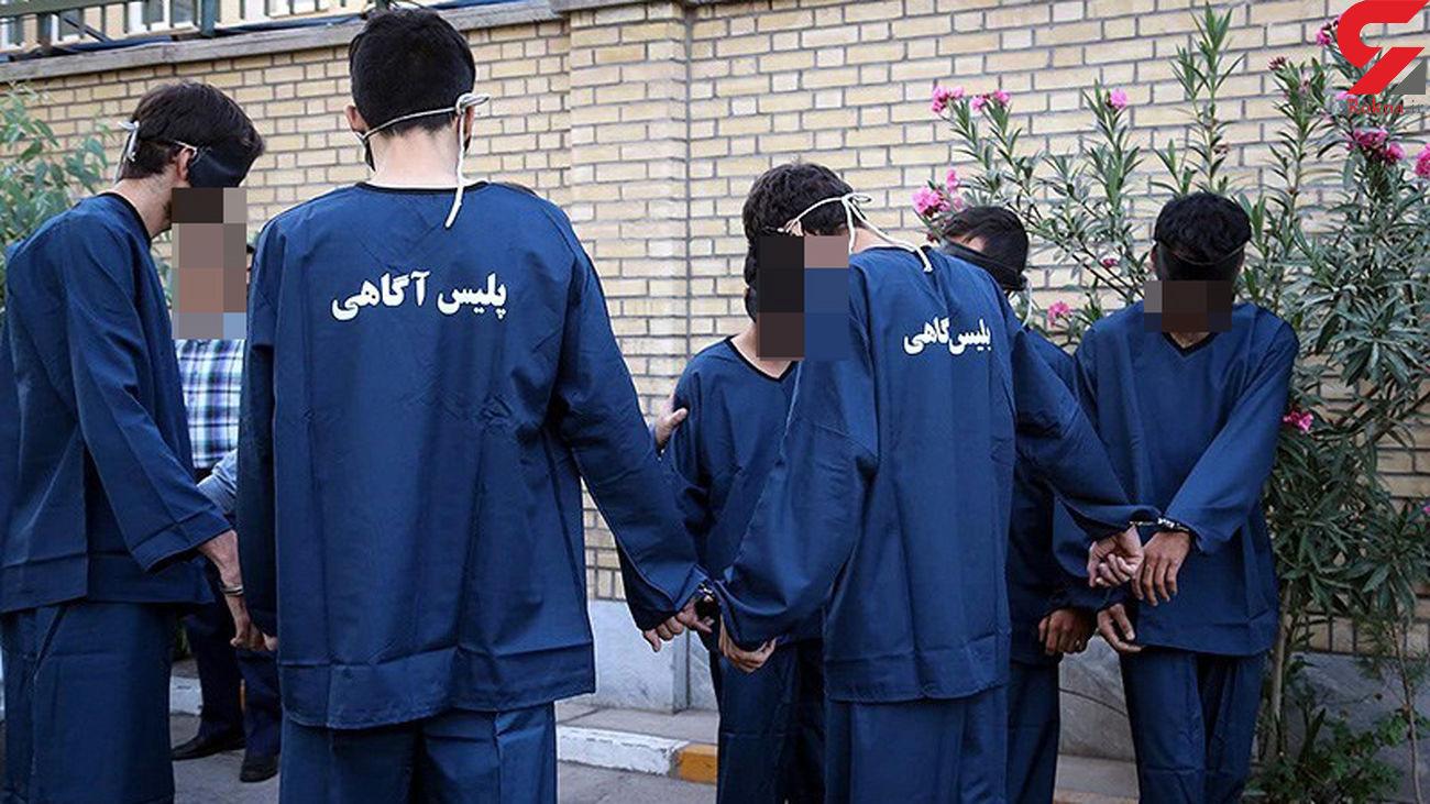 بازداشت 5 شکارچی غیرمجاز در مازندران