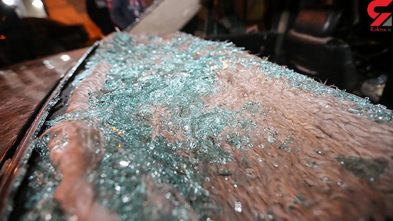 بازداشت عامل تخریب شیشههای ۵ خودرو در جنوب غرب تهران