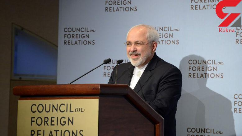 ظریف: خودتان را مسخره نکنید، سیاست تغییر رژیم در ایران جواب نمیدهد