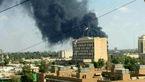 سفارت آمریکا در عراق دچار آتش سوزی شد + عکس