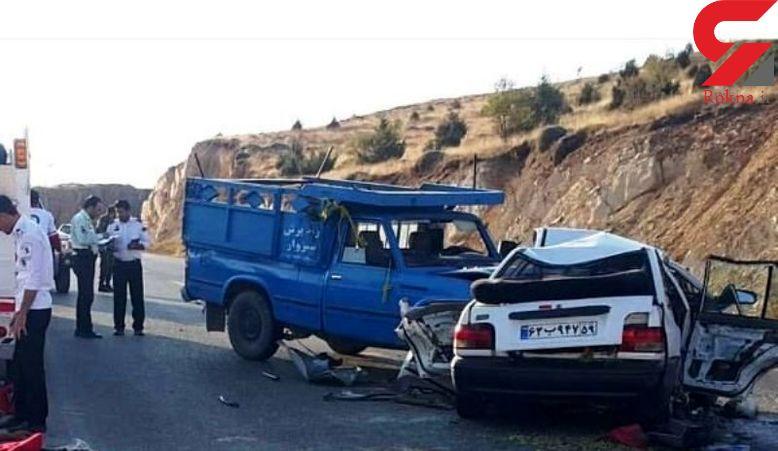 مرگ دلخراش یک مسافر در جاده بجنورد