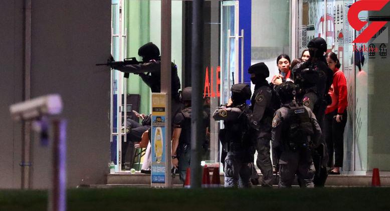 ناپدید شدن گروگانگیر و گروگانها در مرکز خرید تایلند