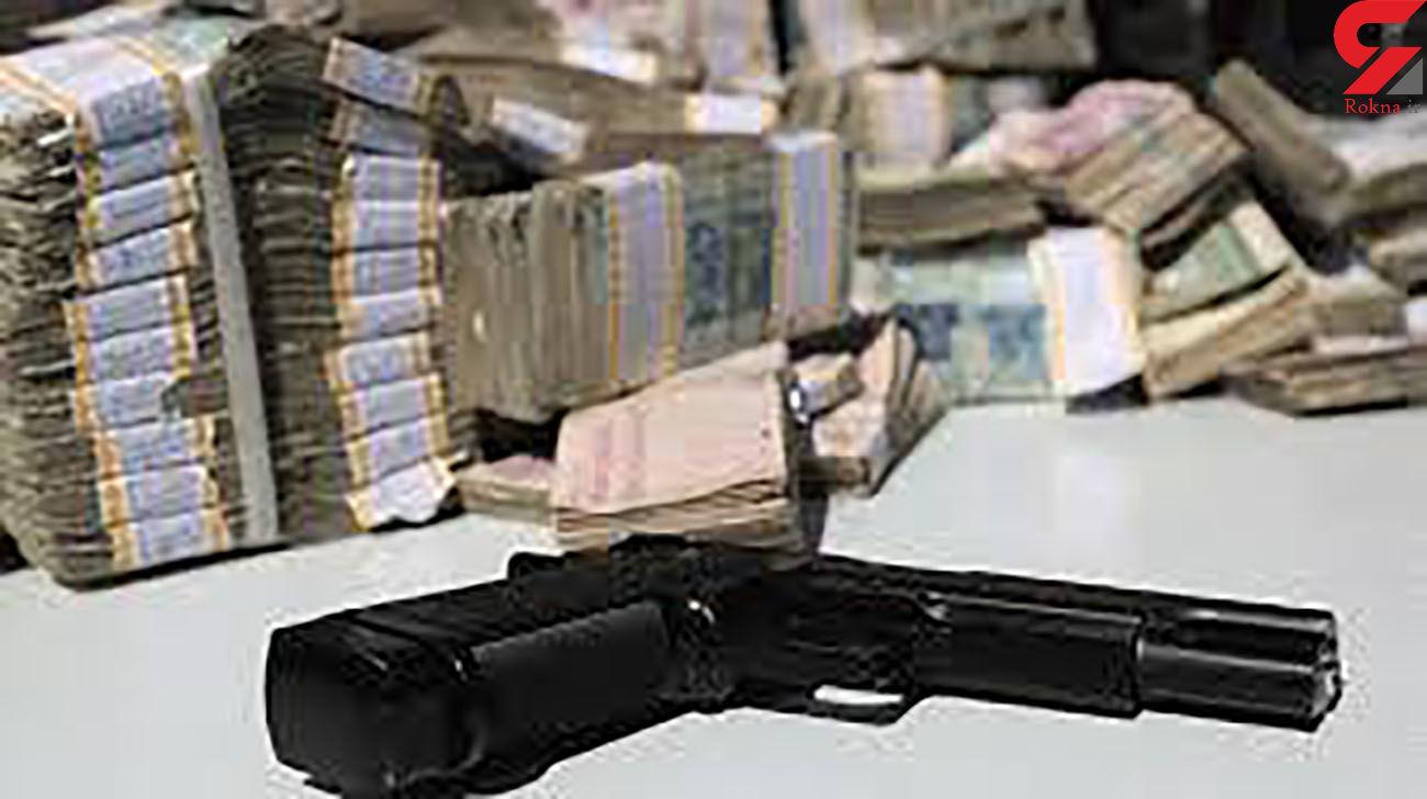 حمله مسلحانه به مامورماشین حمل پول در خرمشهر