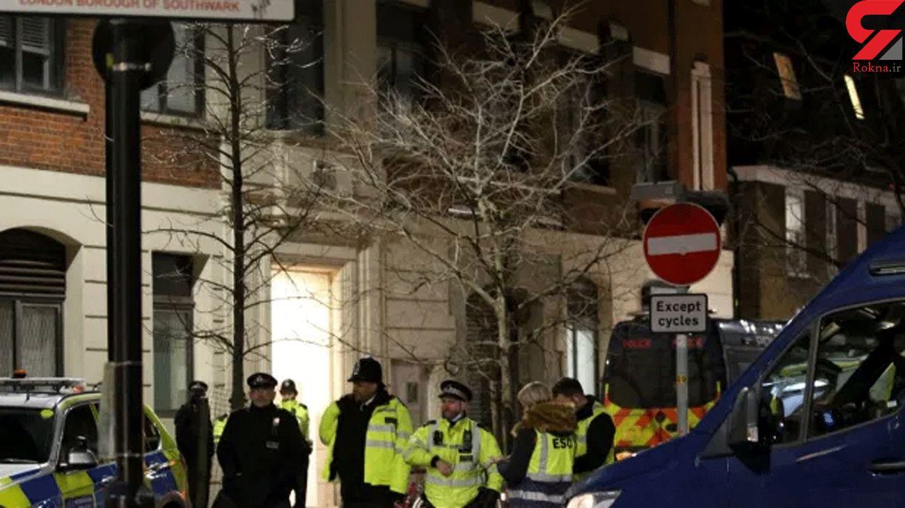 'Major incident' near The London Shard as armed police seen hiding behind trees