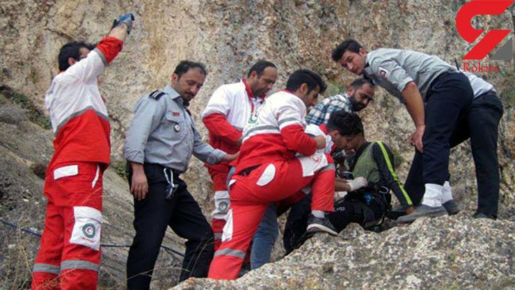 سقوط یک زوج کوهنورد دزفولی از ارتفاعات کینو/ یک نفر جان باخت
