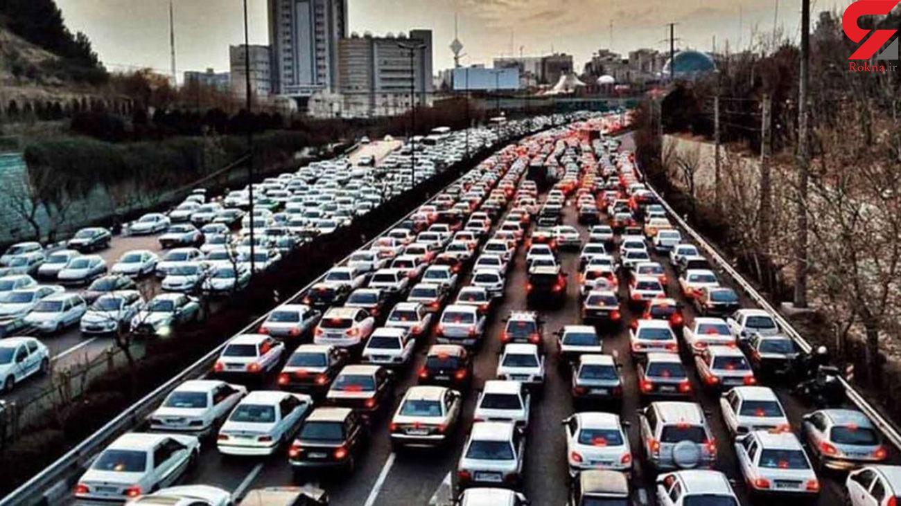 وضعیت جوی و ترافیکی جادههای کشور در 31 مرداد
