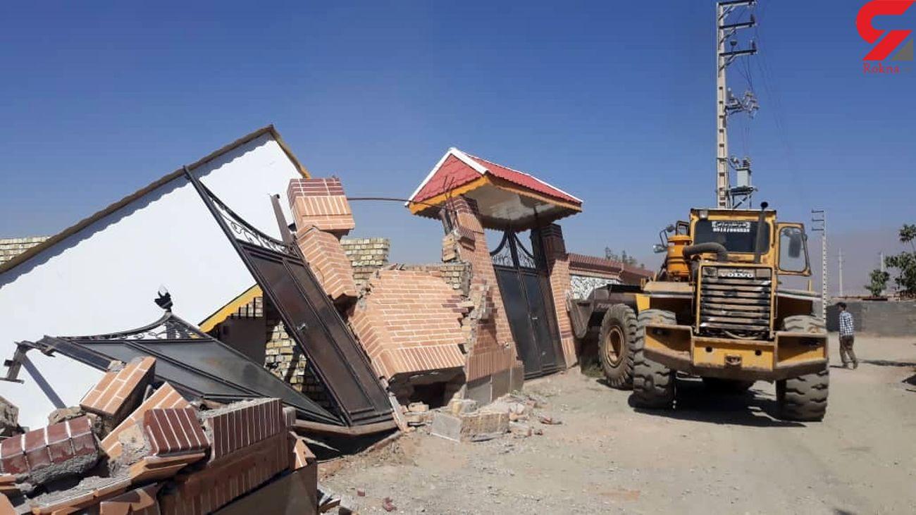 23 مورد قلع وقمع ساخت وسازهای غیر مجاز در نیشابور
