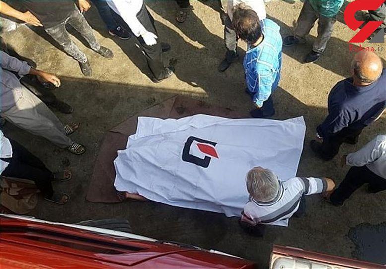 مرگ راننده در اتاقک دربسته خاور