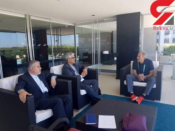 دیدار دکتر صالحی امیری با رئیس فدراسیون بین المللی هندبال