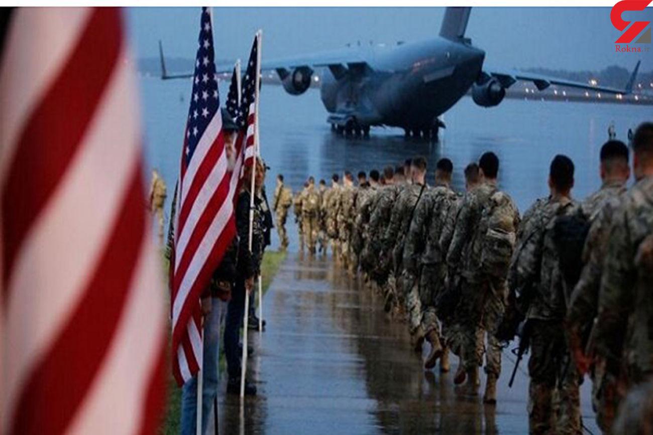 تروریستهای آمریکایی یک پایگاه نظامی در عراق را ترک میکنند