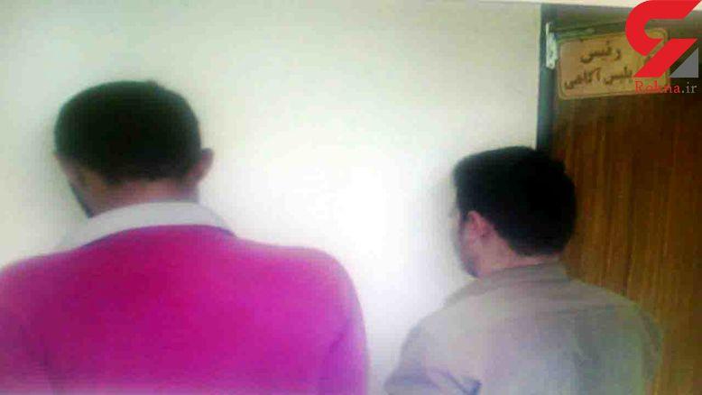 نفشه داماد حسود، عروس را در برابر پدرش شرمنده کرد+عکس