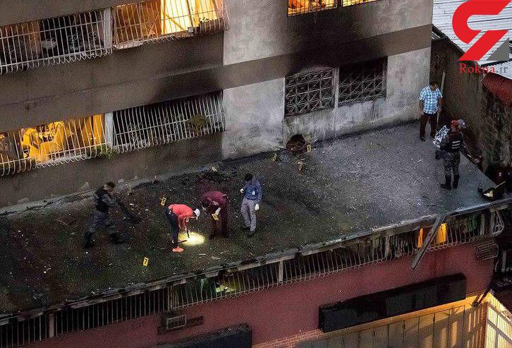 تصاویر دیده نشده از ترور نافرجام رئیس جمهور ونزوئلا