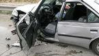 یک کشته و 4 مصدوم در تصادف محور حمیل + عکس