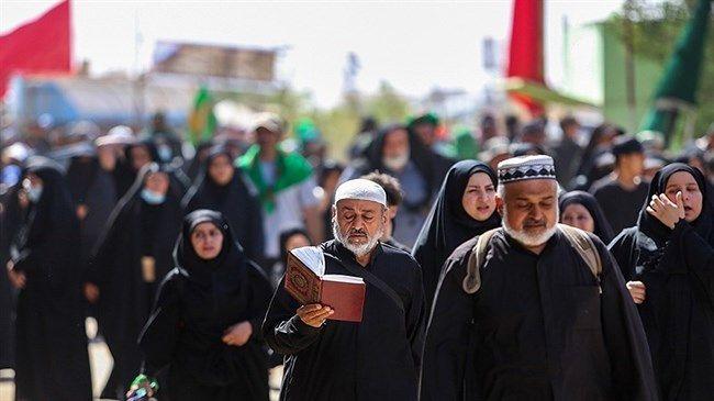 Thousands of Shia pilgrims in Karbala to mark Arbaeen