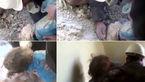 نجات معجزه آسای دختر سوری از زیر آوار+ فیلم و تصاویر