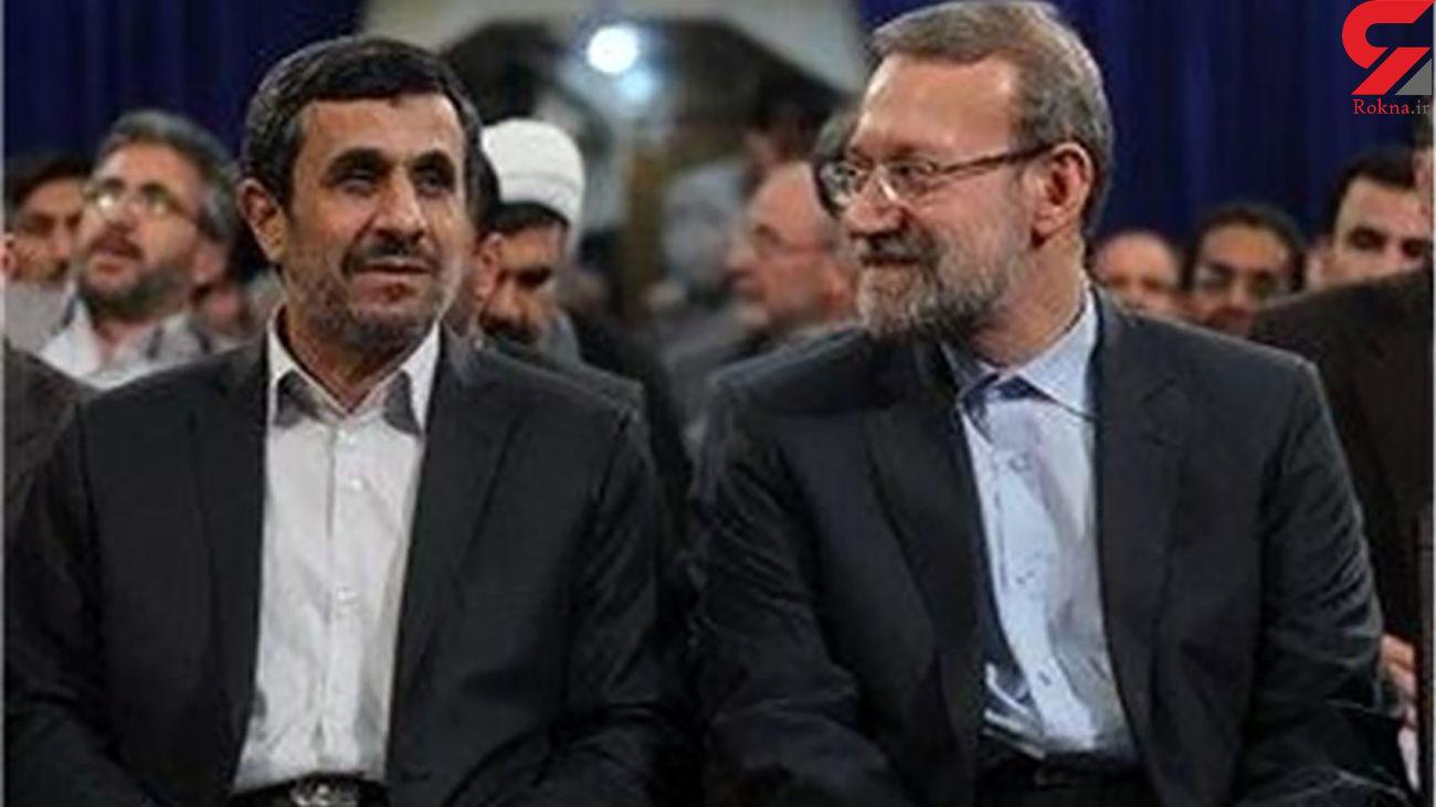 پیشنهاد امینی به لاریجانی: با احمدینژاد مناظره کنید
