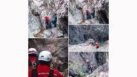 نجات ۳ نوجوان گرفتار در ارتفاعات چارده بیرجند