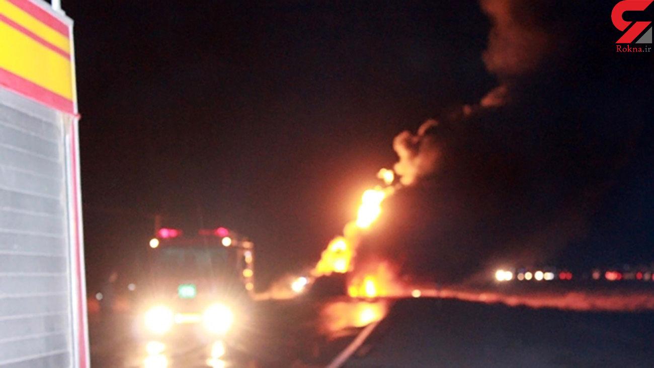 فداکاری ماموران پلیس راه اصفهان از یک فاجعه جلوگیری کرد
