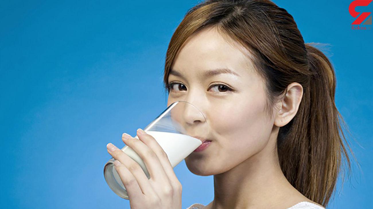فواید بی نظیر نوشیدن شیر